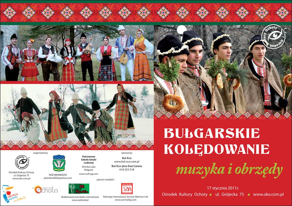Афиш - Bulgarskie Koledowanie - Полша 2012