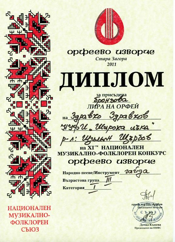 Здравко Здравков - Орфеево Изворче 2011