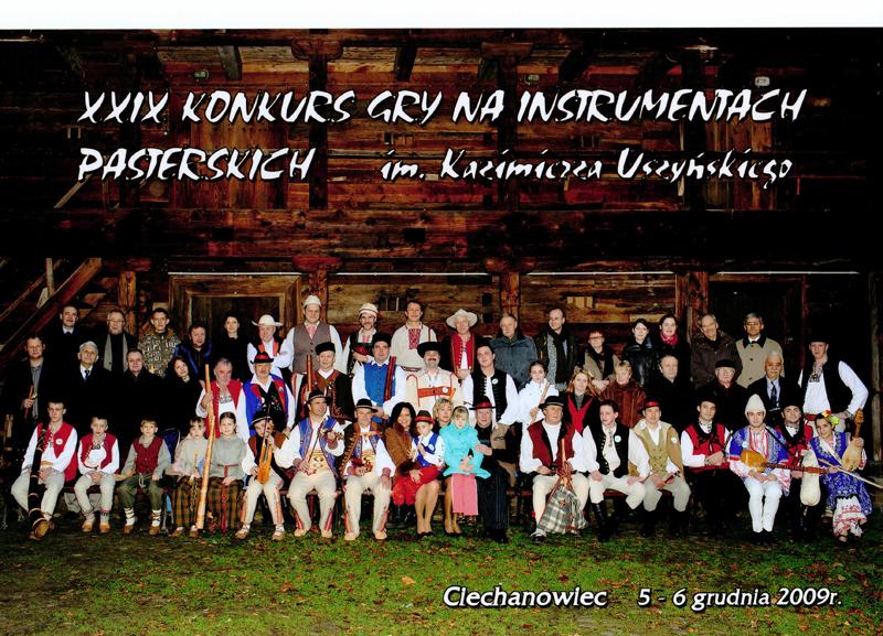 XXIX Konkurs Gry na Instrumentach Pasterskich 2009